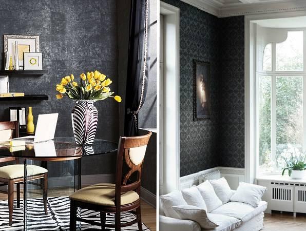 Черные унитазы в дизайне