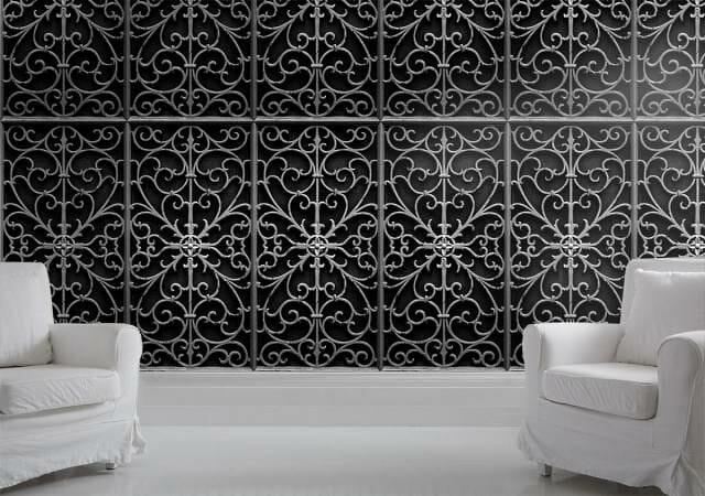 Черно-белые обои для стен от Mineheart