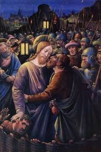 """Жан Бурдишон, """"Поцелуй Иуды"""""""
