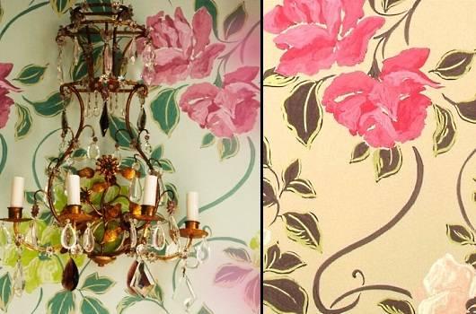 Обои от Designers Guild, напечатанные с помощью флексографии