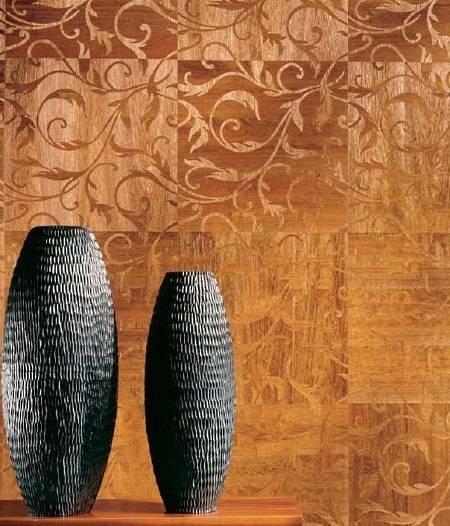 Деревянные обои от Maya Romanoff