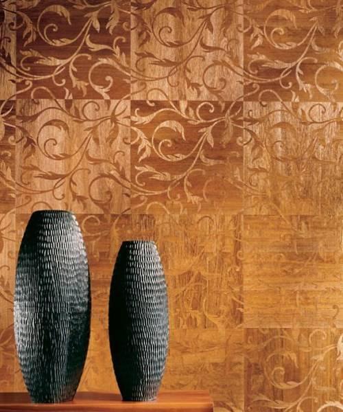 Обои из древесины. Производитель - Maya Romanoff
