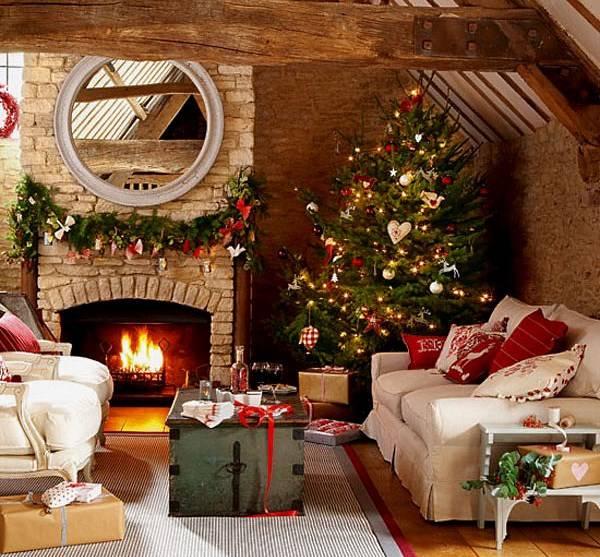 Традиционный новогодний декор