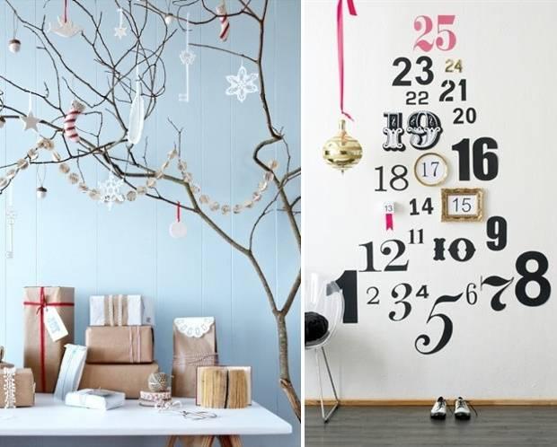 Вместо традиционной новогодней елки