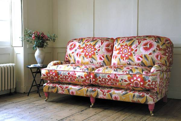 Мебельные ткани с крупными узорами