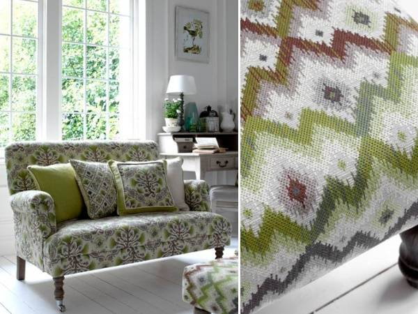 Мебельные ткани Lorient с плетением