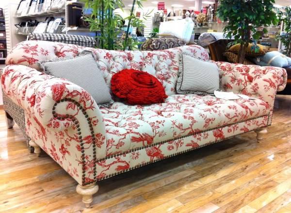 Мебельные ткани с красивыми узорами