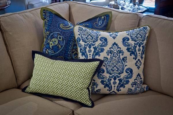 Однотонные мебельные ткани