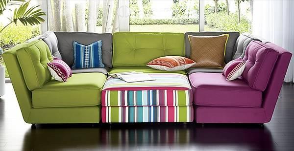 Яркие мебельные ткани с узорами