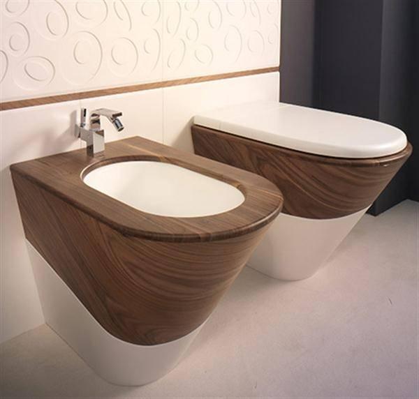 Деревянное сидение для туалета