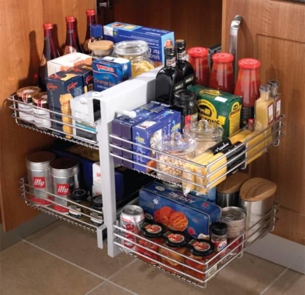 Как оформить угол кухни