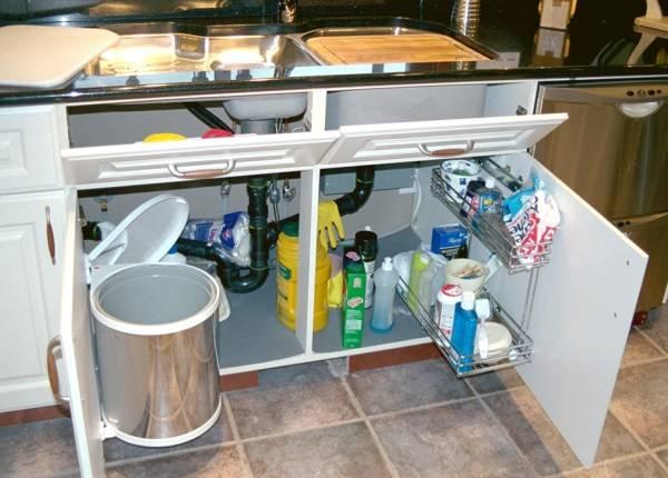 Место для отходов на кухне