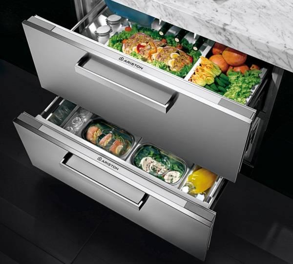Охладительные ящики для кухни