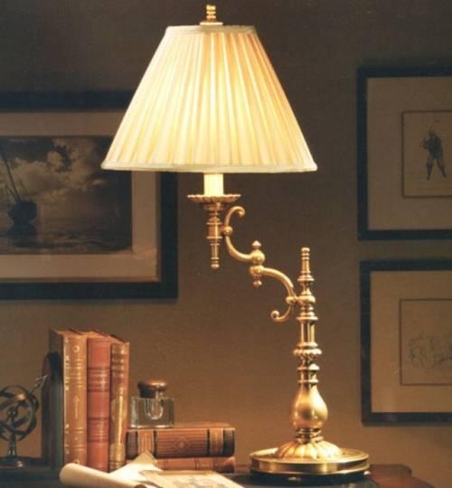 Настольная лампа с рассеивающим абажуром