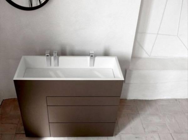 Раковина и мебель для ванной Milldue