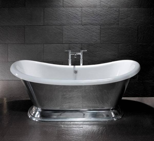 Стальная эмалированная ванна