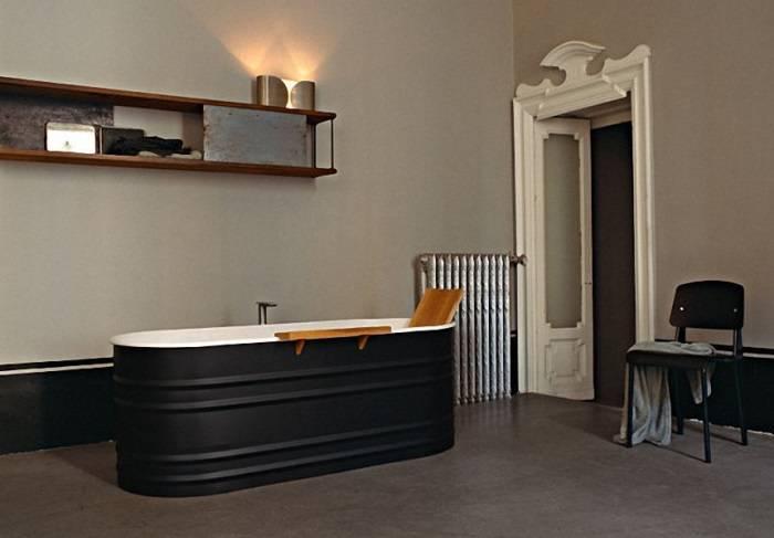 Классическая стальная ванна