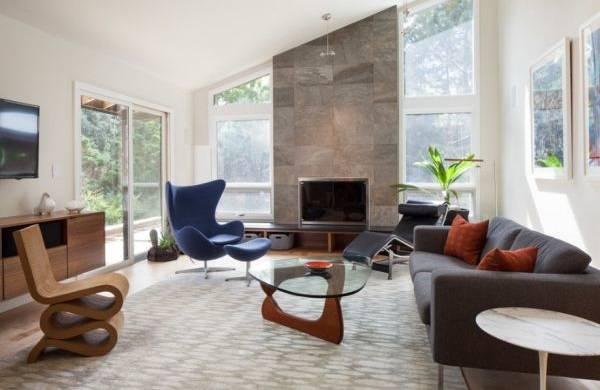 Современный стиль модерн в интерьере
