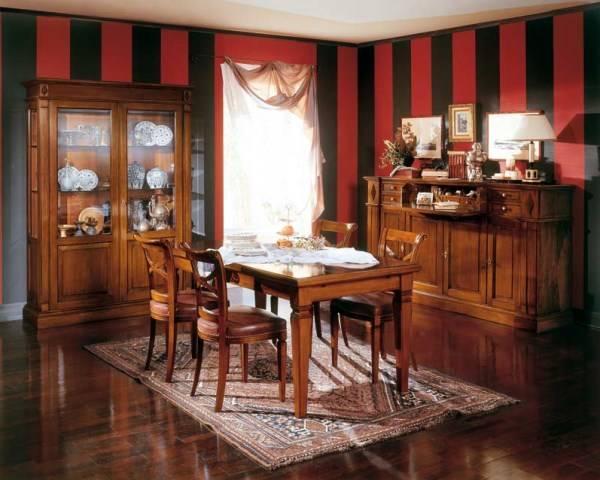 Дизайн столовой - мебель Bramante от Betamobili