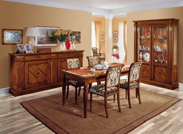 Дизайн столовой - мебель Vasari от Betamobili