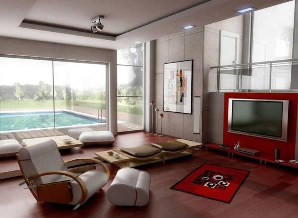 Дизайн интерьера - акцент