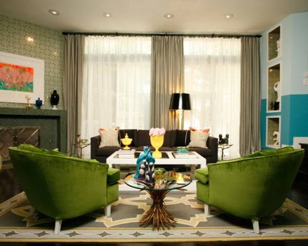 Дизайн интерьера - симметричный баланс