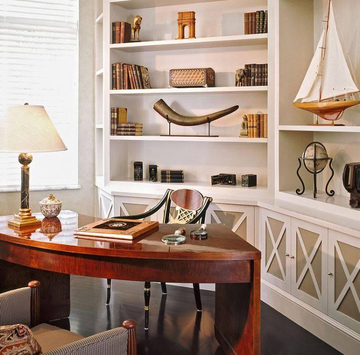 Дизайн малогабаритного кабинета