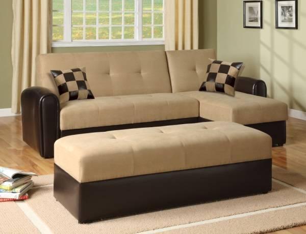 Оформление маленькой гостиной - многофункциональная мебель