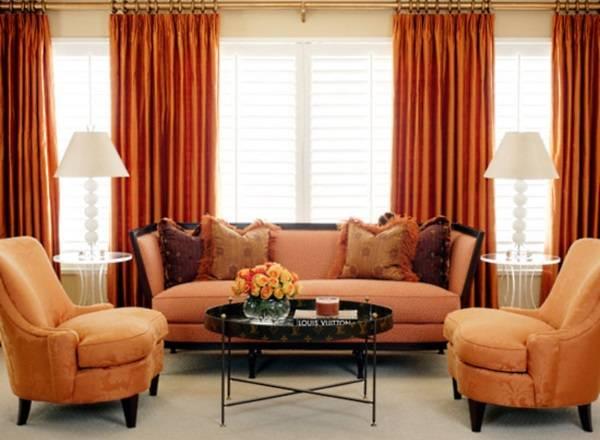 Оформление маленькой гостиной - выбираем цветовую схему