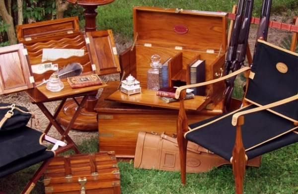 """Мебель в колониальном стиле """"knock-down"""""""
