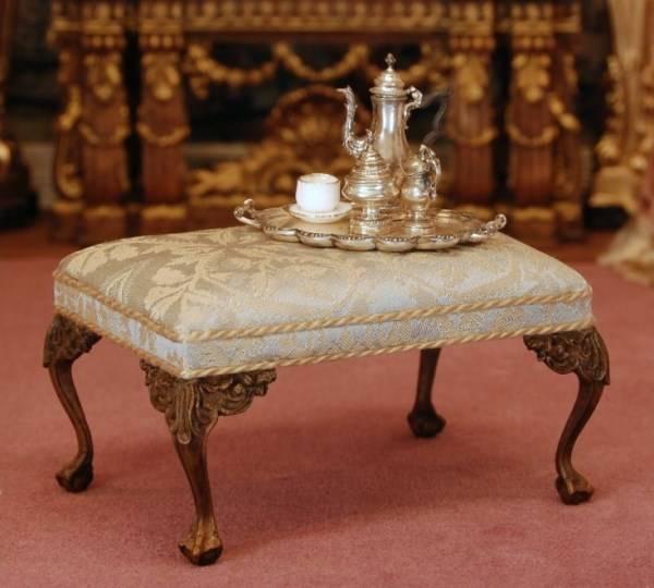 """Мебель в стиле Старого Света с ножками """"коготь и шар"""""""