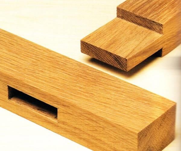 """Мебель из дерева - соединение """"паз-шип"""""""