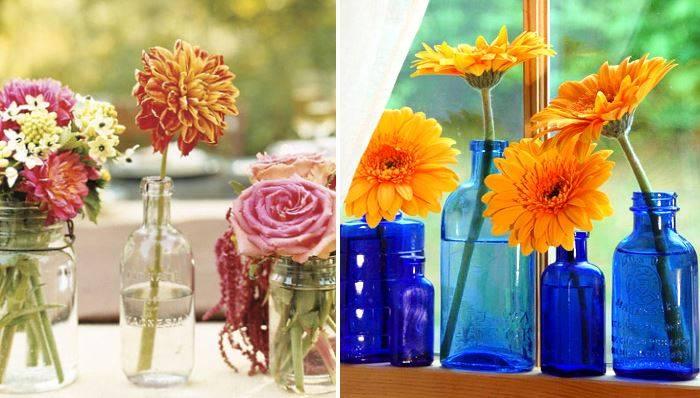 Каждому цветку - своя ваза