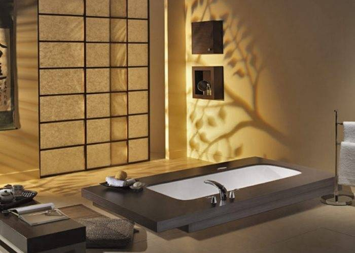 Освещение в японском стиле