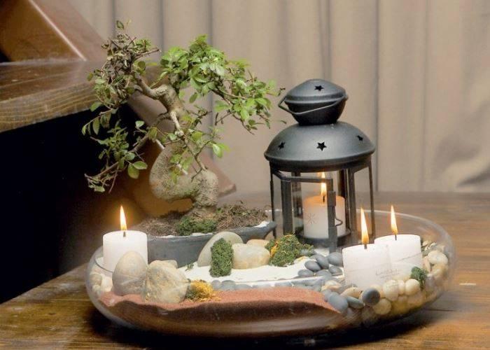 """Маленький """"сад камней"""" для интерьера"""