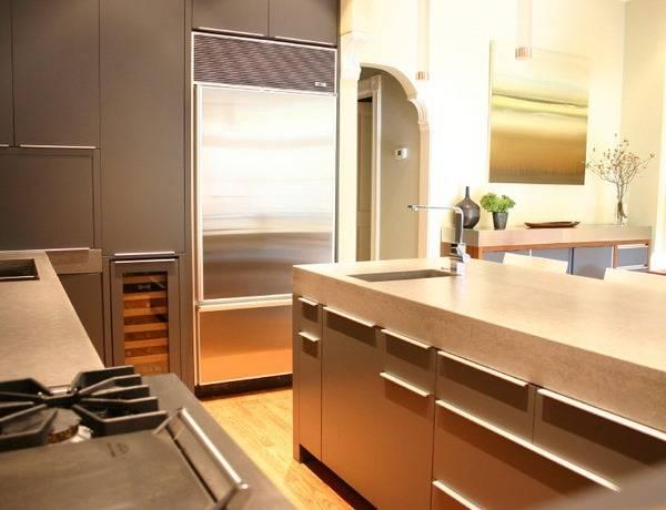 Бетонные столешницы для кухни