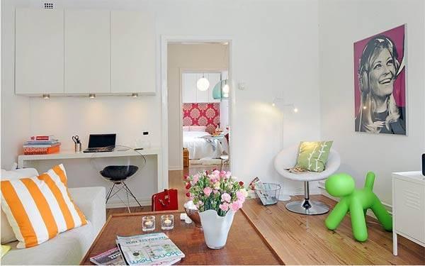 Красивый дизайн маленькой квартиры