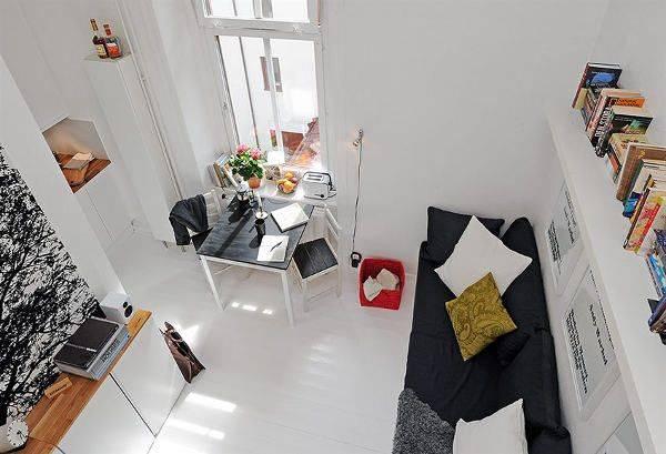Крохотная квартира 17 кв. м.