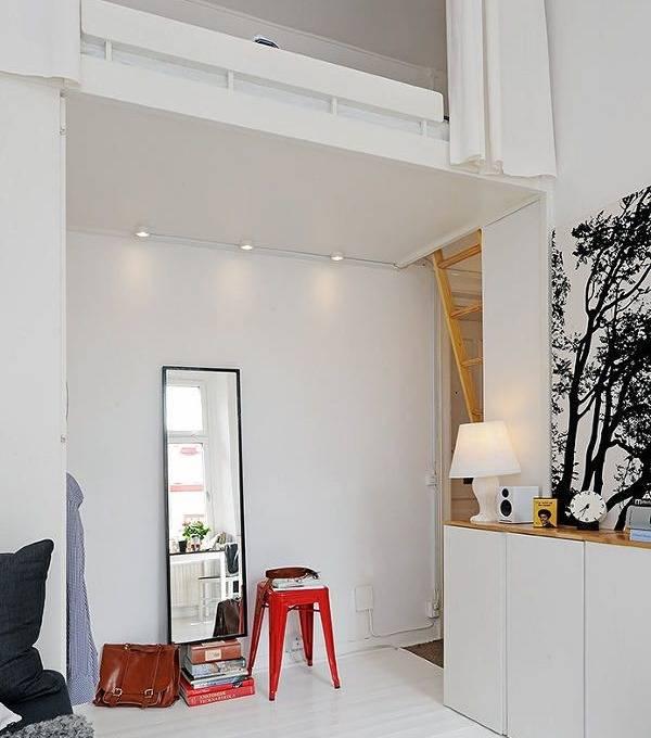 Планировка крошечной квартиры