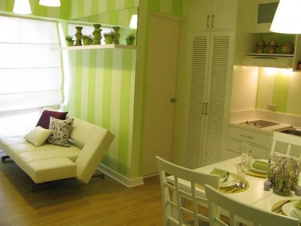 Свежий дизайн маленькой квартиры