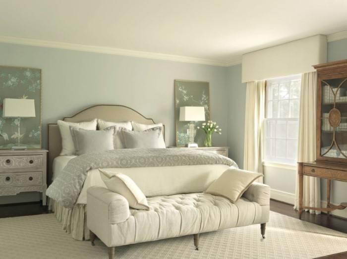 Дизайн спальни в нейтральных тонах