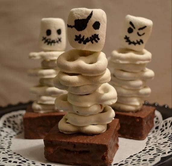 Интересный декор на Хэллоуин