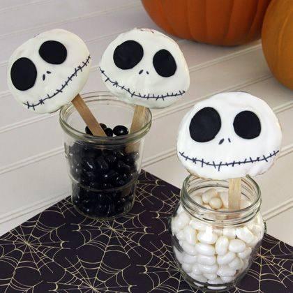 Декор на стол на Хэллоуин