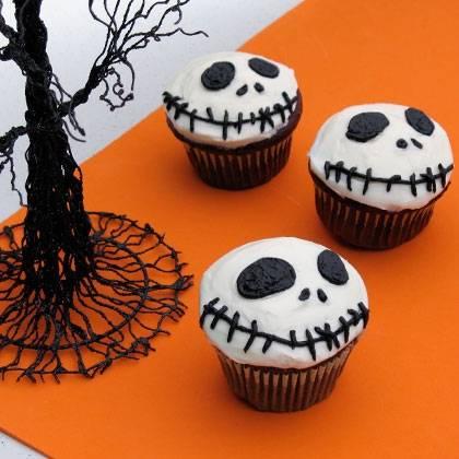 Страшные пирожные на Хэллоуин
