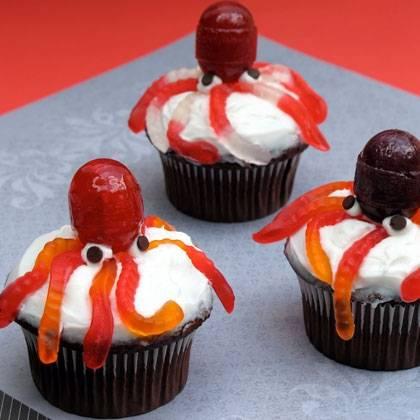 Пирожные на Хэллоуин