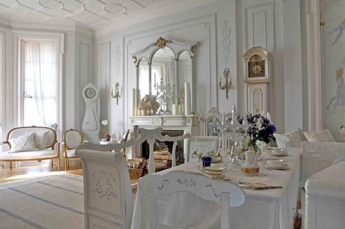 Классический дизайн интерьера в скандинавском стиле