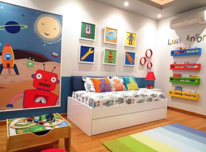 Renkli çocuk odası