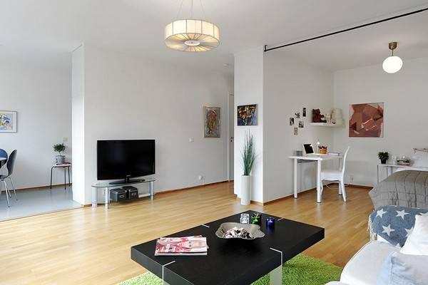 Дизайн квартиры 44 кв. м.