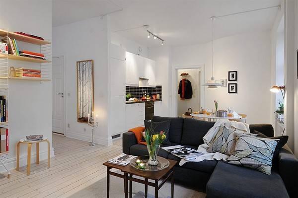 Маленькая квартира 40 кв. м.