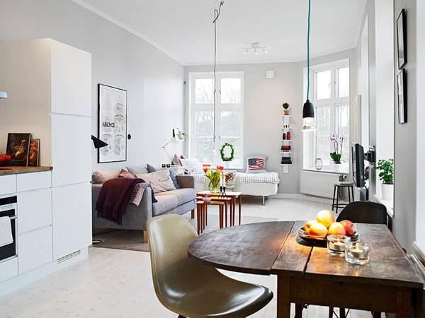 """Маленькая квартира """"все в одной комнате"""""""